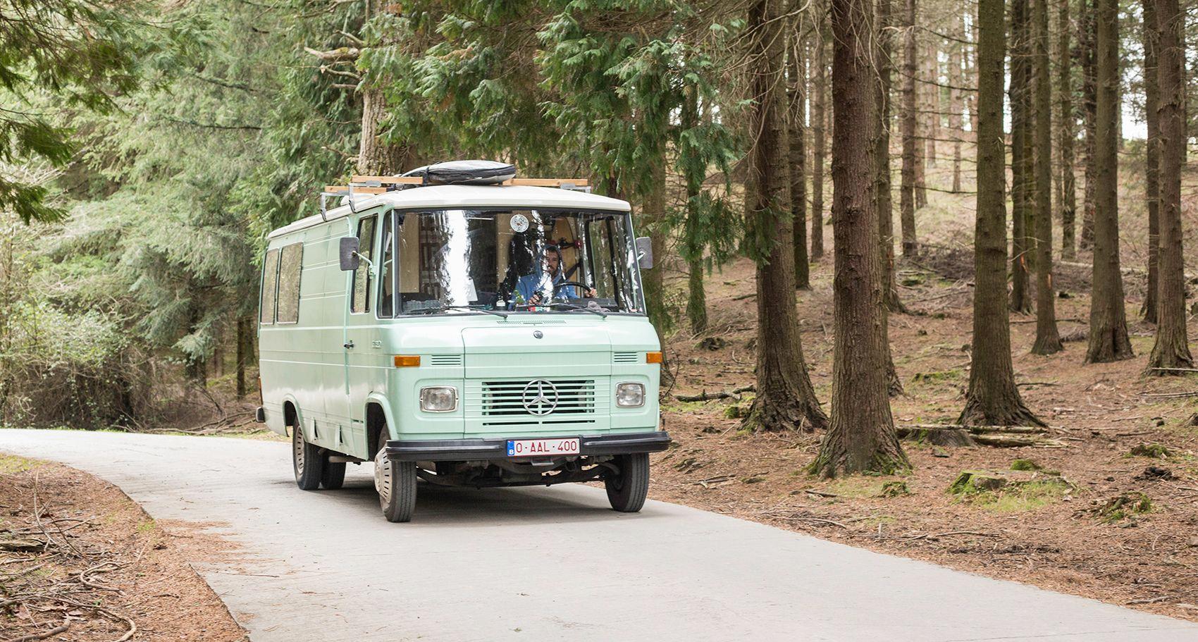 Unabhängigkeit: Leben in einer Mercedes-Benz 9 Wohnmobil