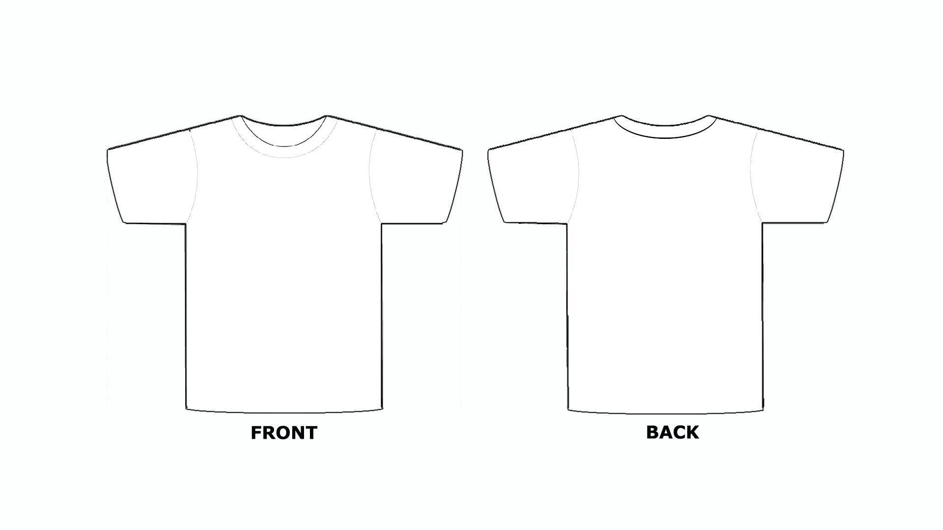 Printable Blank Tshirt Template C Punkt In Printable Blank Tshirt Template Best Sample Template T Shirt Design Template Shirt Template Tshirt Template