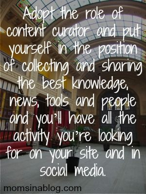 Become The Source for your community.  Cultivate your Content Curation Strategy!