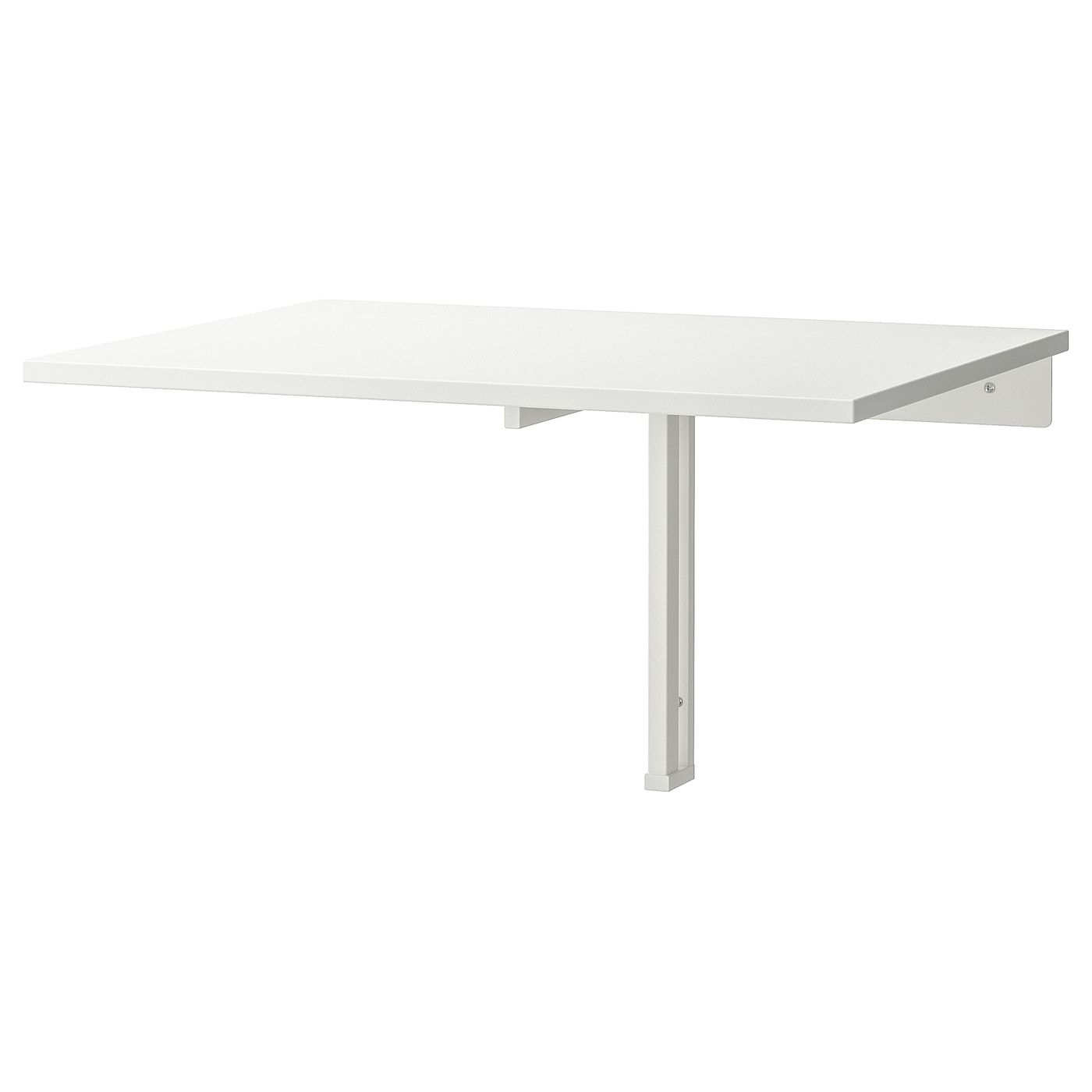 Norberg White Wall Mounted Drop Leaf Table Becomes A Practical Shelf For Small Things When Folded Down You In 2020 Drop Leaf Table Wall Mounted Desk Ikea Leaf Table