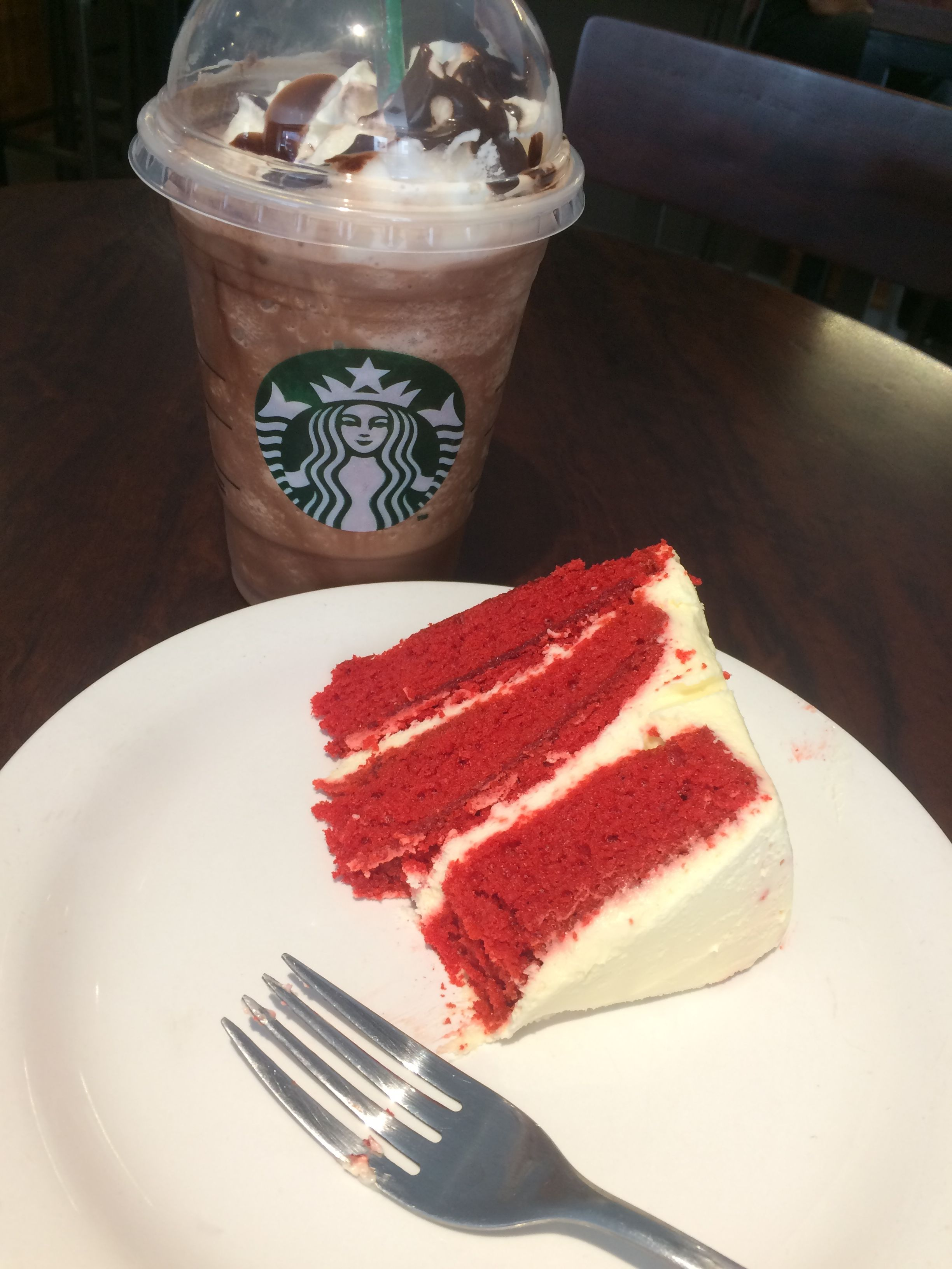 Red Velvet Cake Starbucks Frappuccino Chocolate