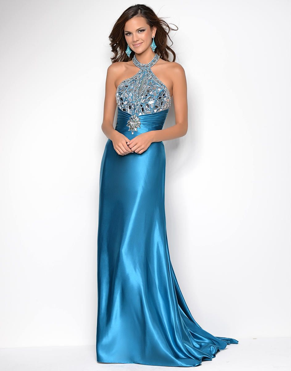 Long dress for party frock