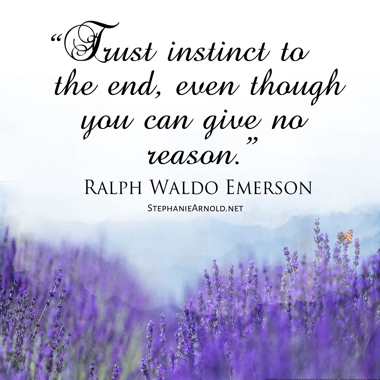 Ralph Waldo Emerson …
