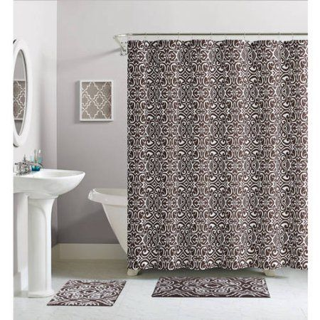 Home Complete Bathroom Sets Shower Curtain Sets Luxury Homes