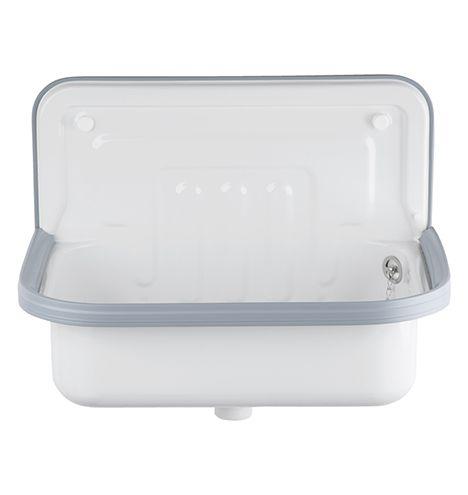 Alape Bucket Sink With Gray Trim Alape Bucket Sink