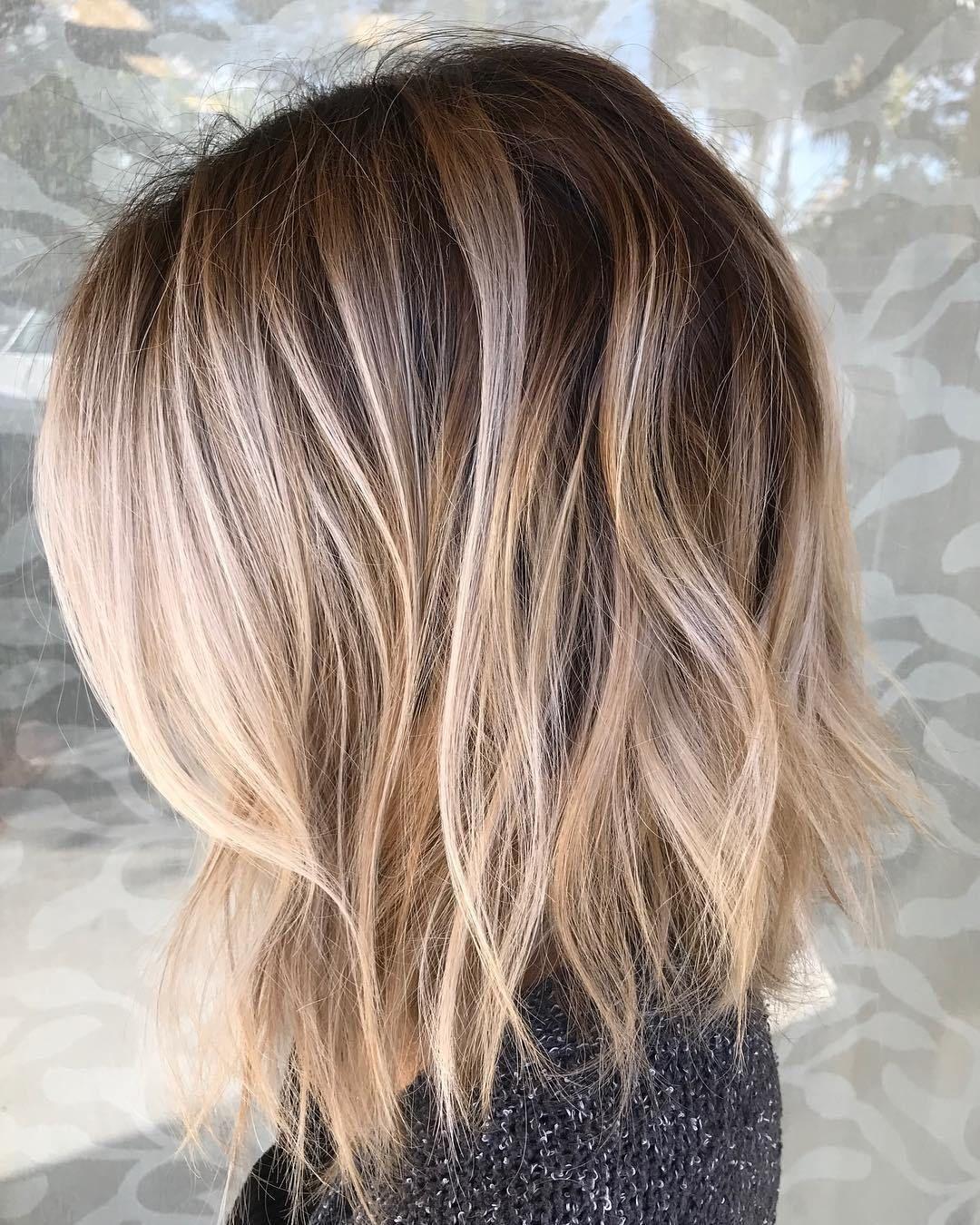 70 Perfekte mittlere Länge Frisuren für Thin Haar