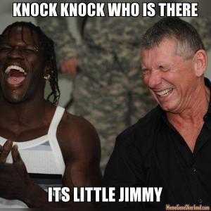 Little Jimmy Jokes Kappit Wrestling Memes Wwe Funny Wwe Memes
