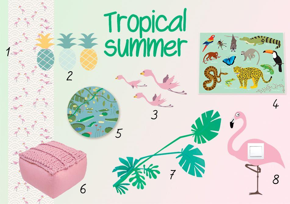 Nos idées déco pour une ambiance tropical summer