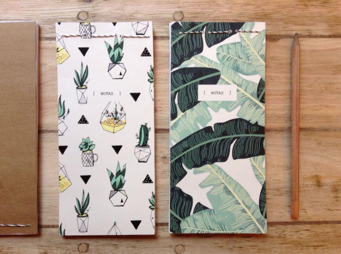 Anotadores  #handmade #diy #notes #notepad #recicly #patterns #colors