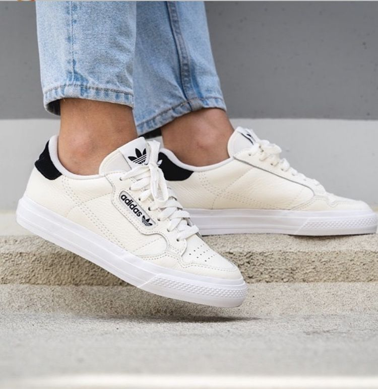 adidas Originals Continental Vulc | Sneakers, Shoes, White ...