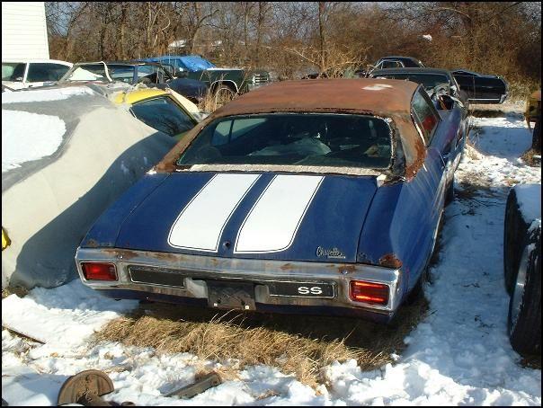 70 Chevelle Junkyard Cars Barn Find Cars Classic Cars Muscle