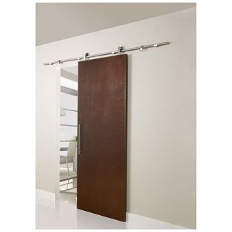 ensemble de rail pour porte coulissante loft tendance bois pinterest bathroom interior. Black Bedroom Furniture Sets. Home Design Ideas
