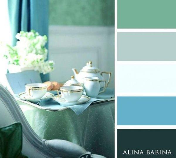 15 Combinaciones Ideales De Colores Para Interiores Verdes Pasteles Colores De Interiores Colores De Pintura De Interior Pintura De Interiores