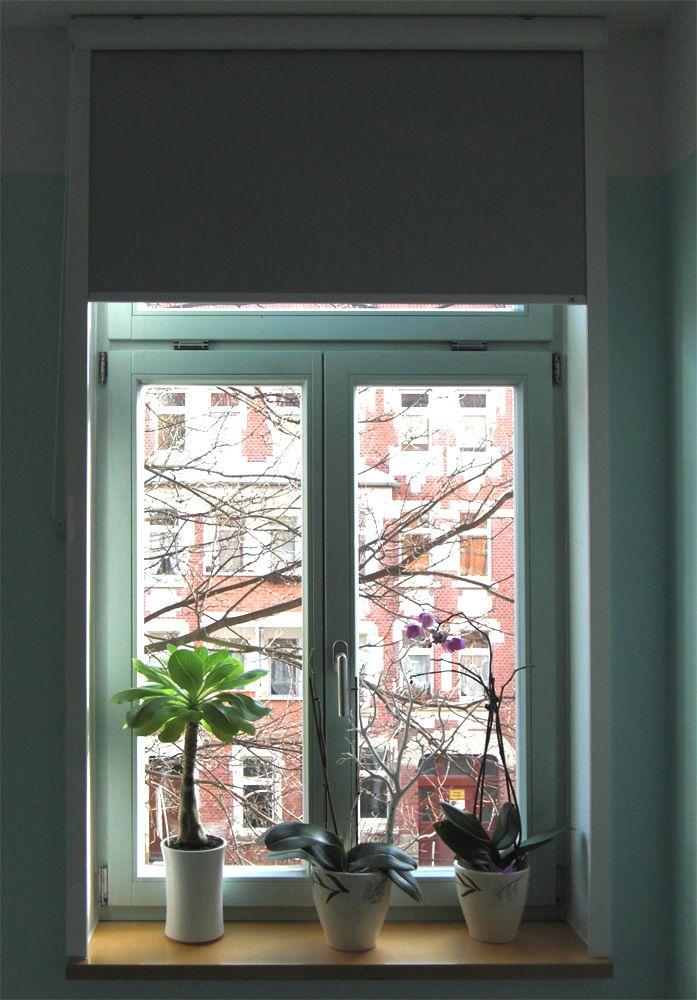 Sonnenschutzrollo Am Schlafzimmer Fenster   Ein Kundenfoto | Roller Blind  On The Bedroom Window   Customerphoto