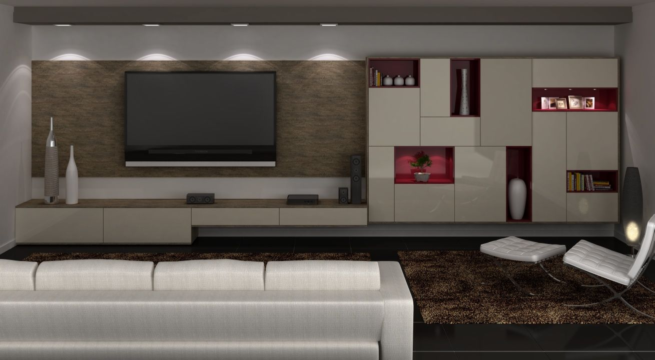 Sala Tv Home Theater ~  home theater, Tv Room, Sala de TV  Pinterest  Theater, Home and Home
