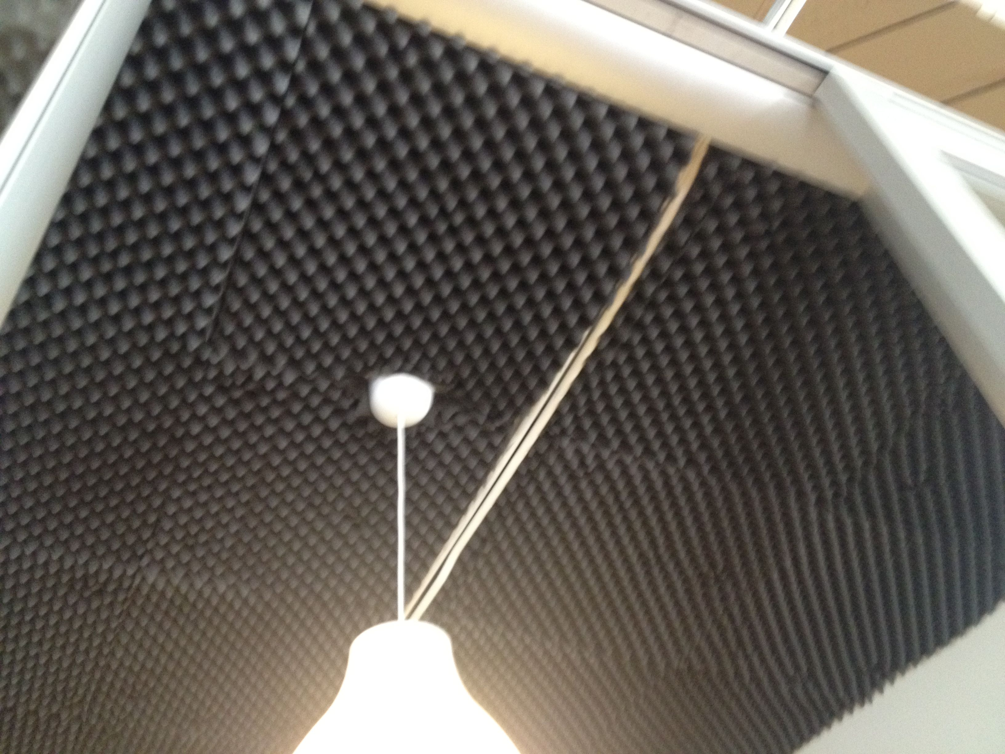 Soundproof Roof Sound Proofing Parrot Bird Lamp