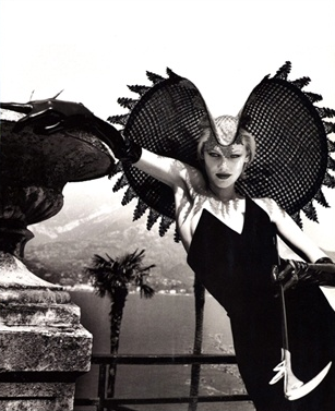 ~~ * Basiliscus Bonnet * ~~    By Helmut Newton, September 1996, Vogue Italia.
