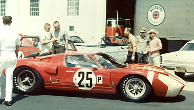 Pit Stop Ford Gt40 Le Mans Racing