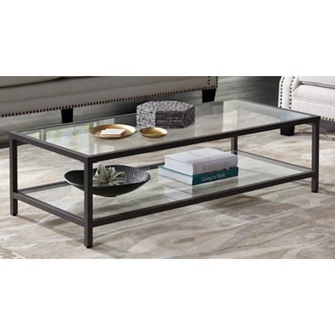 Studio Designs 54 Wide Rectangular Glass Top Coffee Table 9d924 Lamps Plus In 2021 Living Room Coffee Table Coffee Table Glass Top Coffee Table