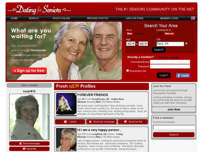 Top tien senior dating sites