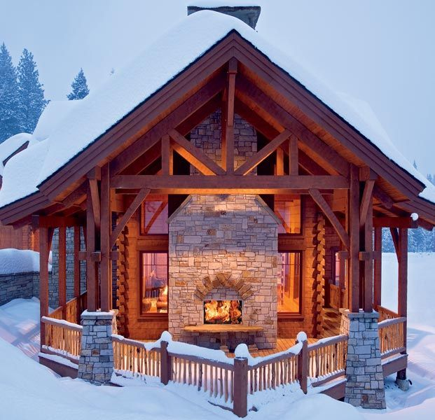 Log Homes, Timber House, Log Home Living