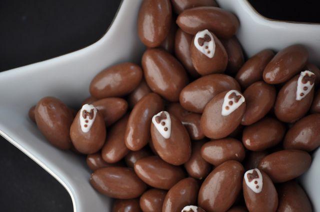 Tuxedo Chocolate Covered Almonds