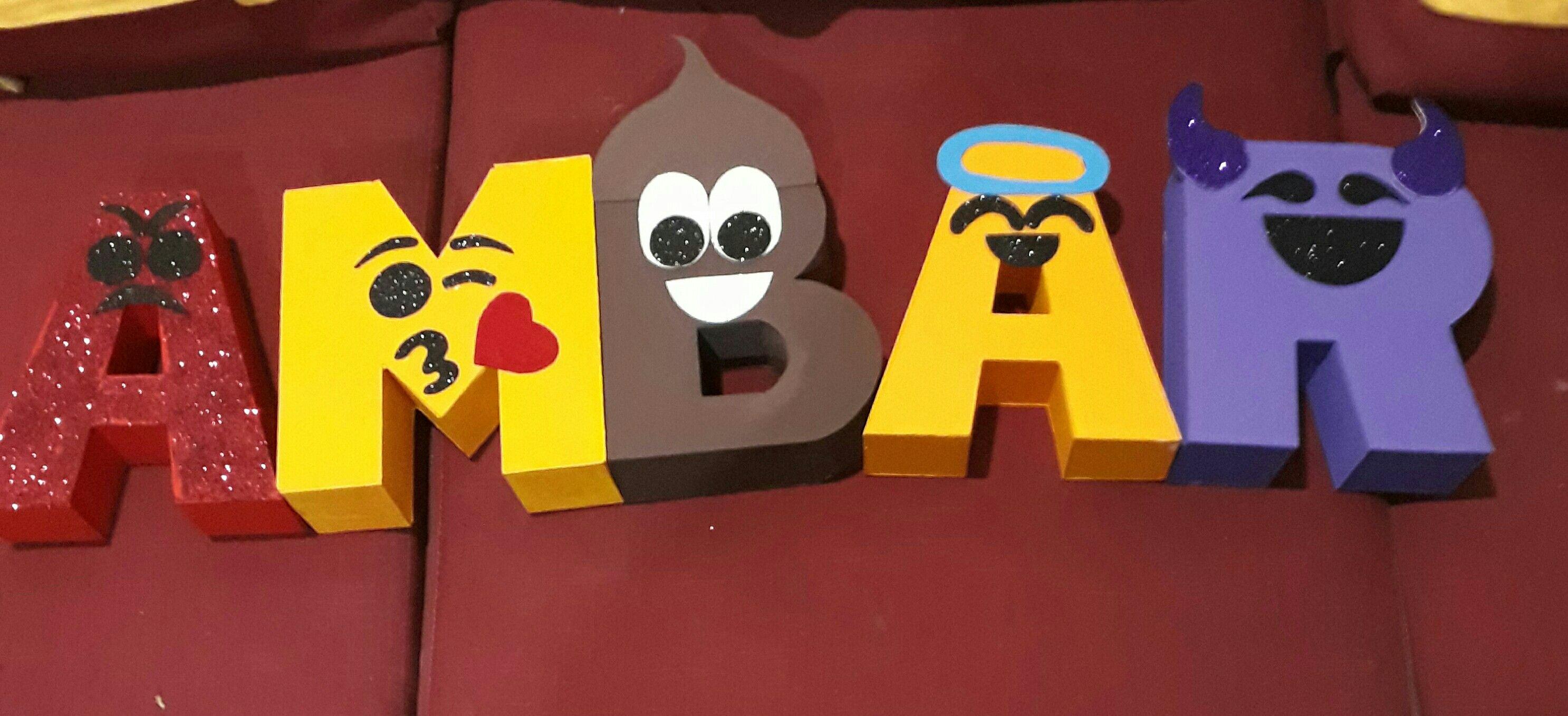 Letras Nombre Emoji Nombres Emoji Emoji Fiesta