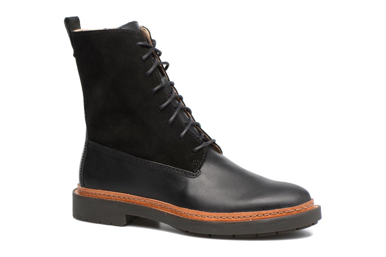 4405760f12489 Clarks Trace Rise (Noir) - Bottines et boots chez Sarenza (308154 ...