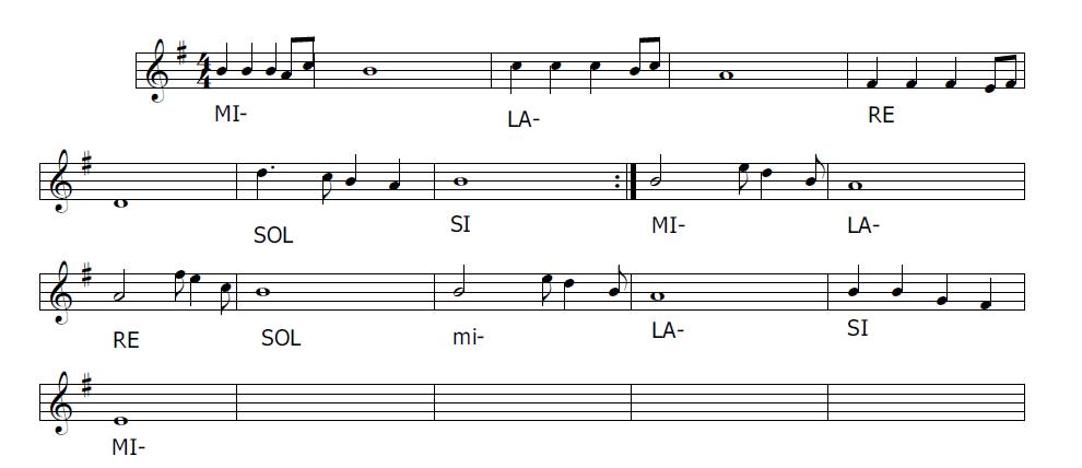 Musica e spartiti gratis per flauto dolce gam gam for Facile creatore di piano