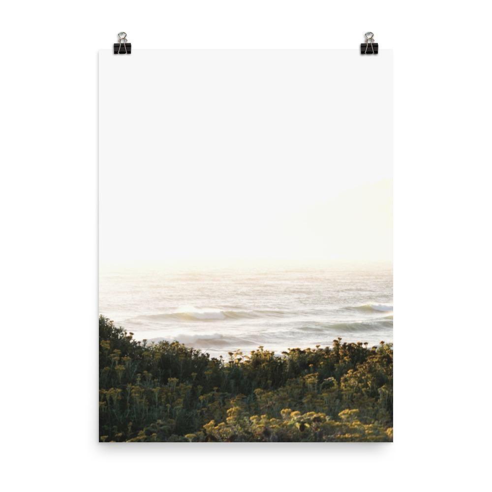Coastal Wall Art Print Neutral Boho Decor - 18x24(in) 45x60(cm)