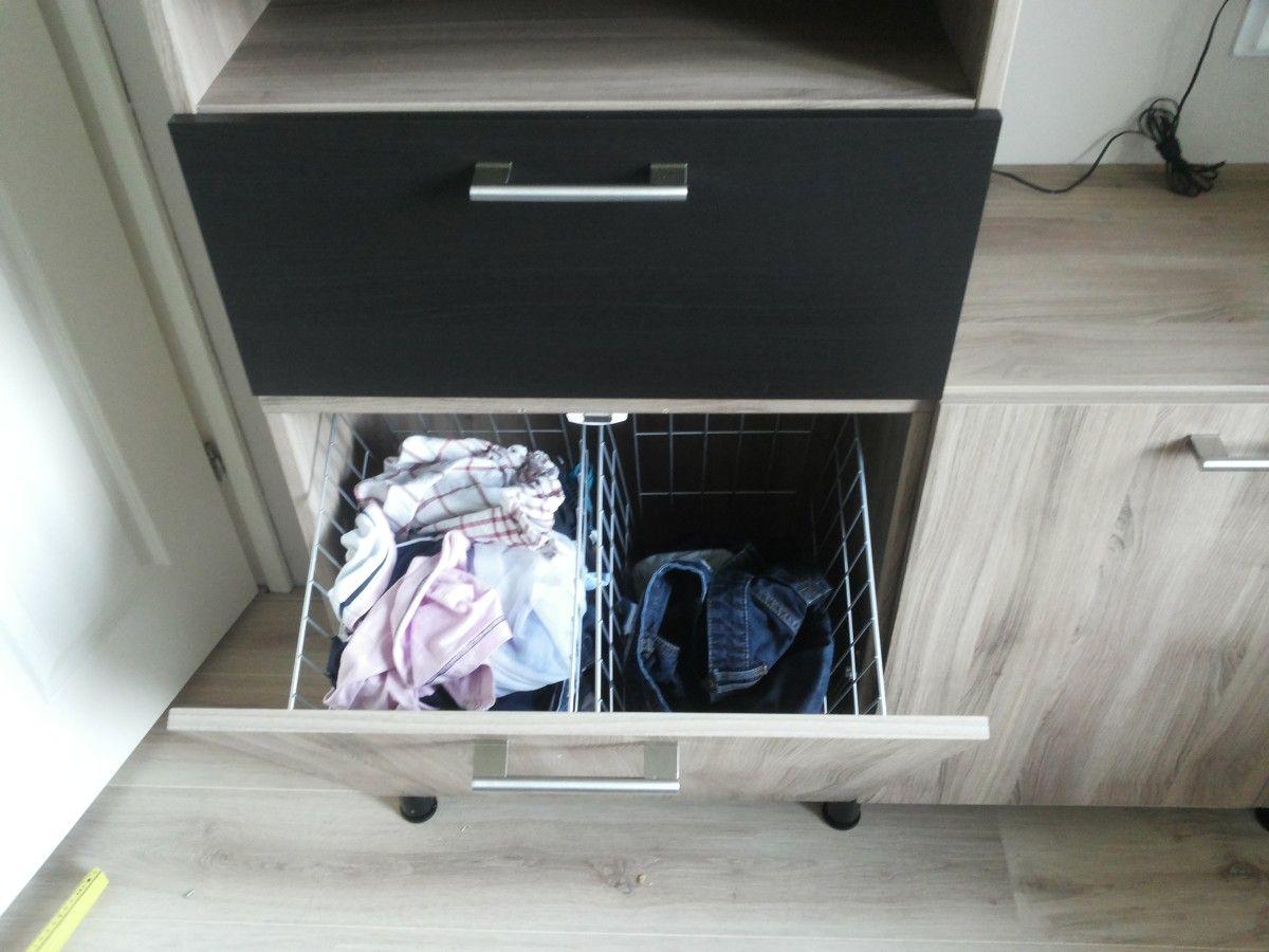 IKEA Hackers--Besta Tilt out h&er door open & Besta tilt out hamper | Pinterest | Hamper Tilt and Door opener