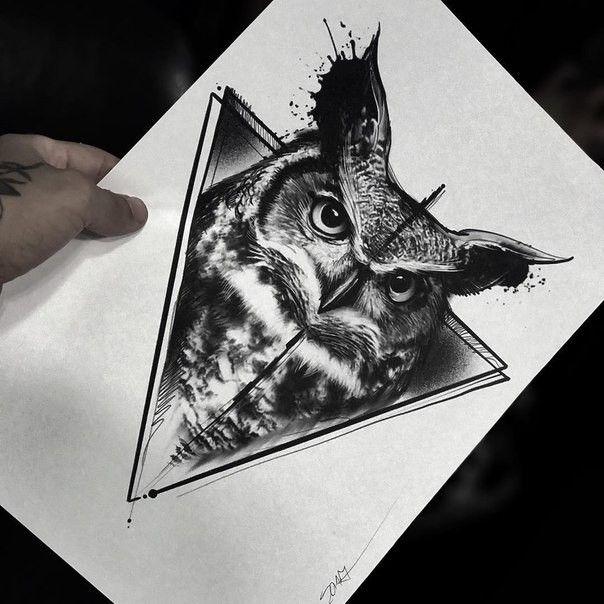 Pin De Fil Vova En Ptahi Tatuaje Buho Buhos Tatoo Tatuaje Buho Real