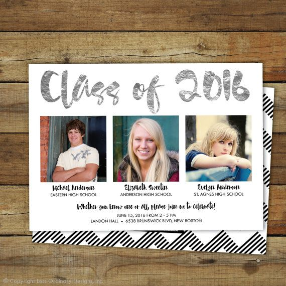 Combined Graduation Party Invitation Graduation Open House For More