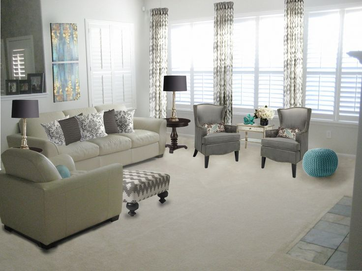 Living Room With Sofa And Two Accent Chairs Pictures For Feng Shui Pin By Housefurniture On Furniture Nice Small Elegant 95