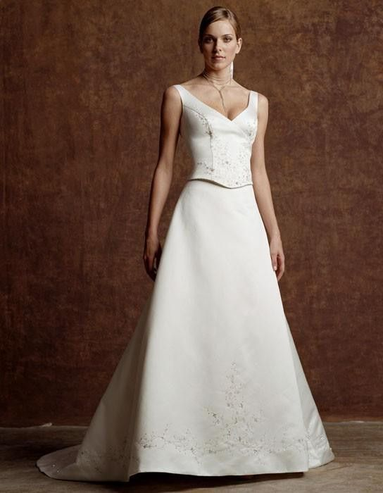 Casablanca 1659 wedding gown, 2 piece Ivory Size 14, Sale $275 | Deb ...
