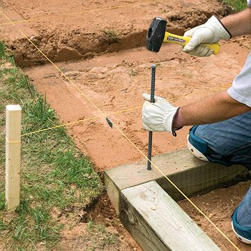 How To Install Timber And Brick Steps Brick Steps Landscape Timbers Garden Stairs