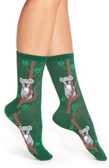 f466aa1c4 HOT SOX 'Climbing Koala' Pattern Socks available at #Nordstrom ...
