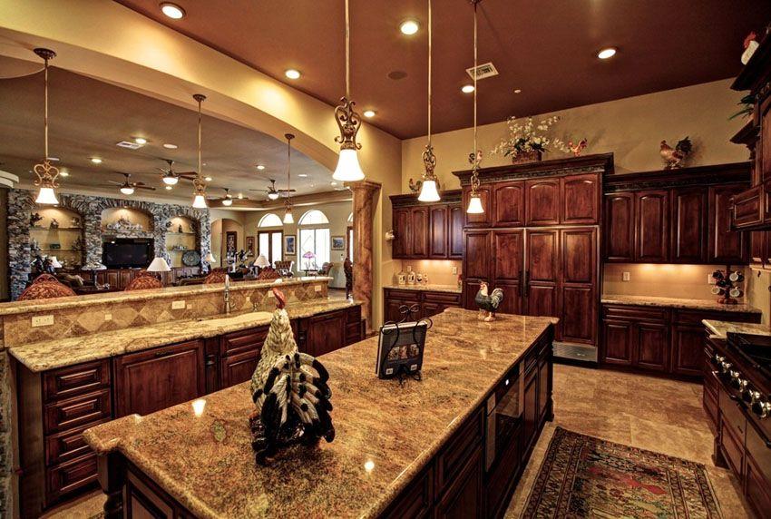 35 Luxury Mediterranean Kitchens (Design Ideas)   Luxury kitchens ...