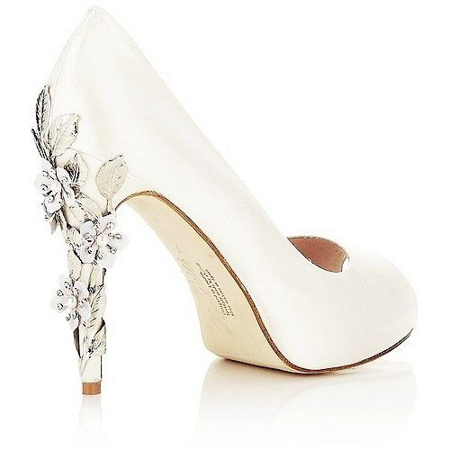Bold White High Heels | Love the Look | Pinterest | White high ...