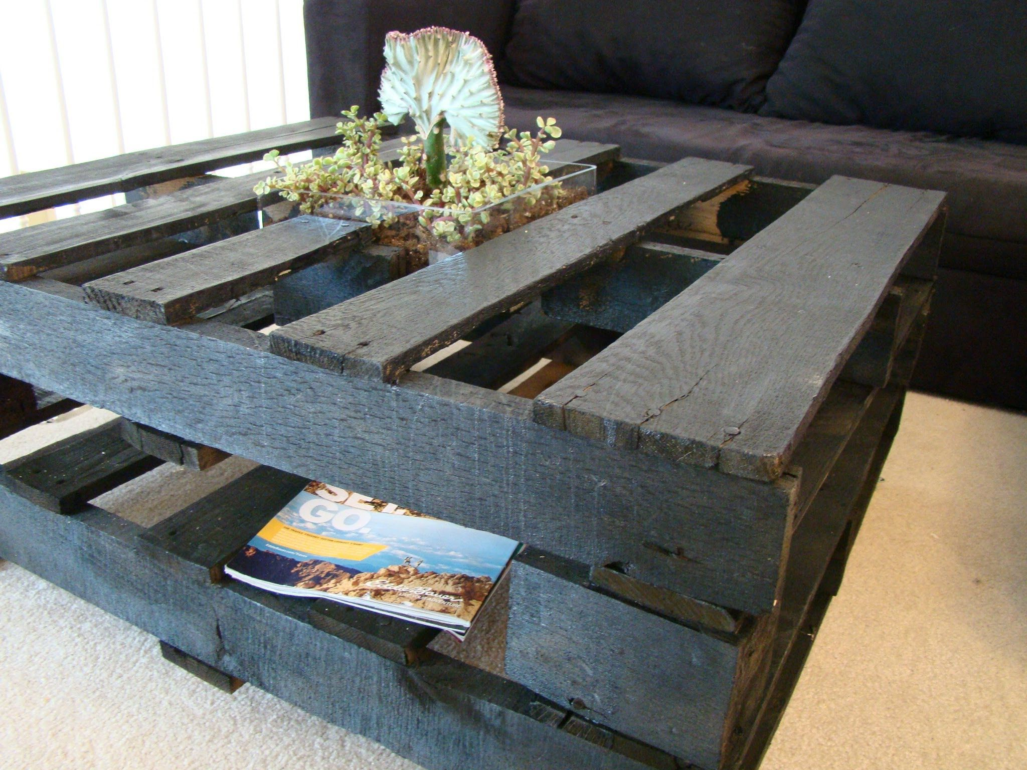 How To Make A Coffee Table Out Of Pallets Wanna Make A Coffee Table Out Of
