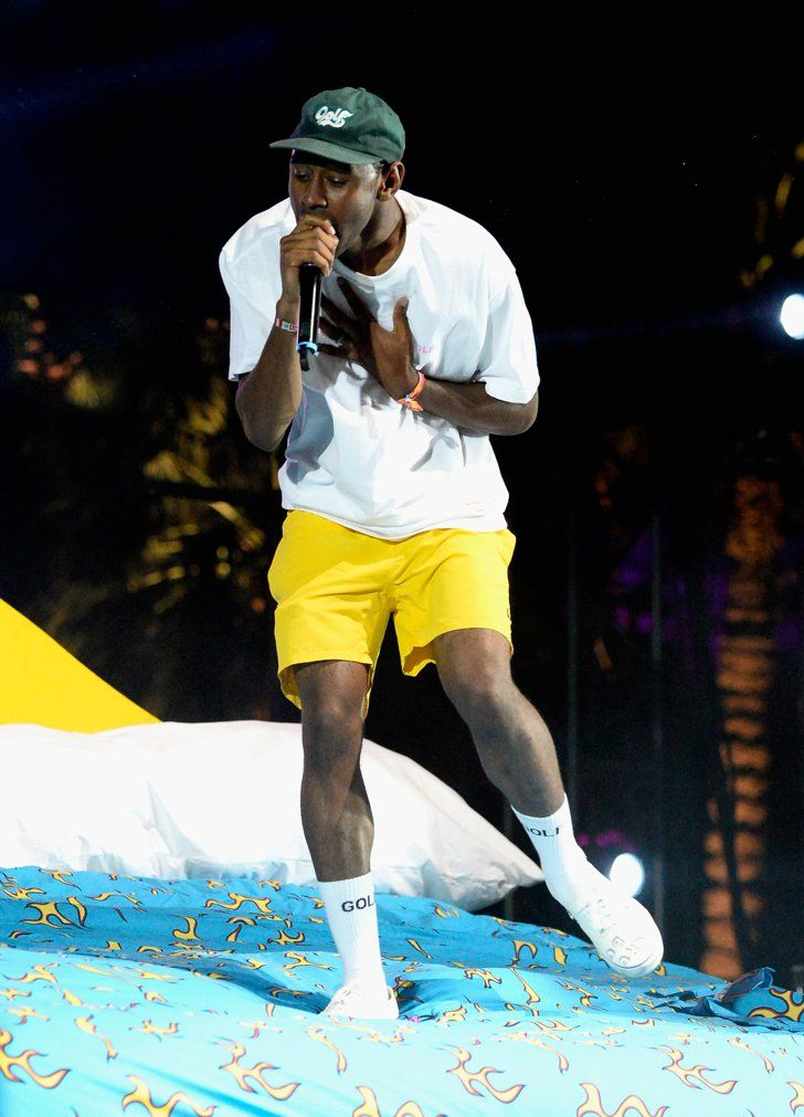 Pin for Later: Seht alle Stars beim Coachella Musikfestival Tyler, The Creator