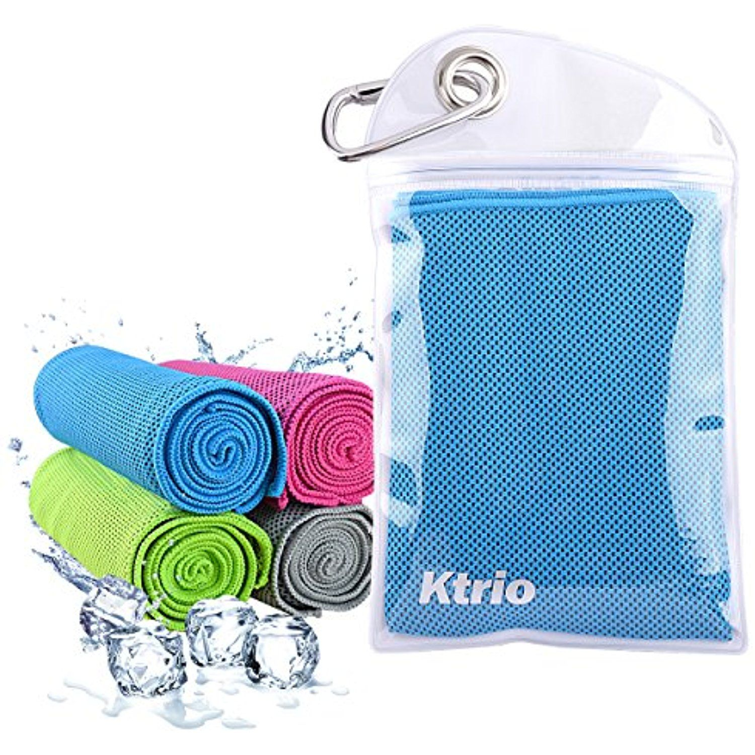 Ktrio Snap Cooling Towel Cooling Towel For Instant Relief 40a X