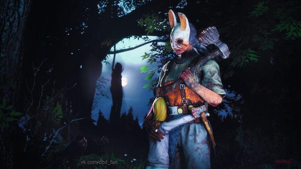 Steam Community Forest Dead By Daylight Anna Huntress Devid King Nea Huntress Huntress Cosplay Daylight