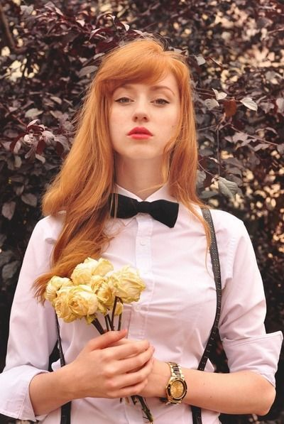 Trendy Hair Style 2017/2018 :    rousse  - #HairStyle https://youfashion.net/trends/hair-style/trendy-hair-style-rousse/