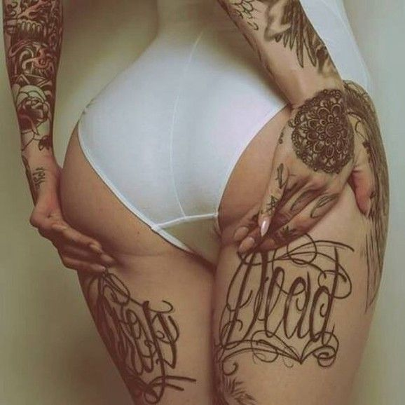 Under butt tattoo beneath the buttocks pinterest for Tattoos on your butt
