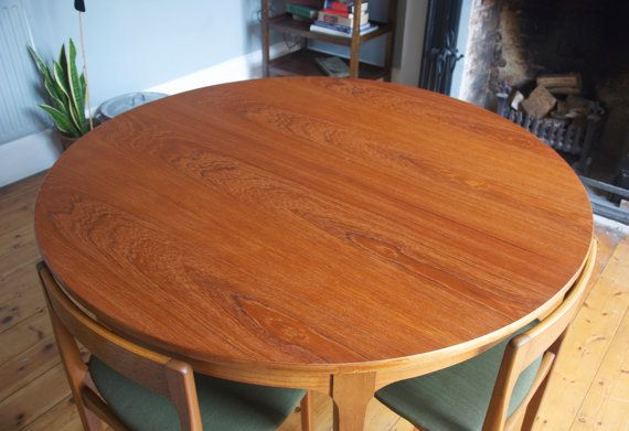 Nathan Dining Table & Chairs by WeirdGilly on Etsy