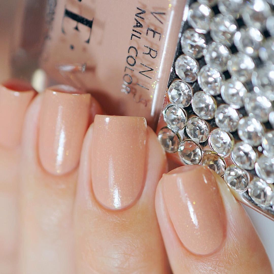 D4zzling me lee hi rose inspired nail - Cev Chic Elegant Love The First Dance 502 Nailpolish Nails Nudenails