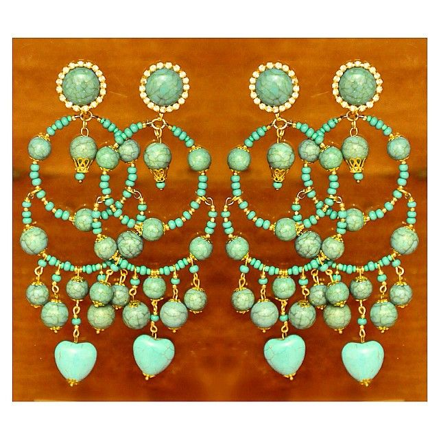 Turquesa - nosso brinco favorito de hoje! ✨ #endymesquita #turquesa #turquoise www.endymesquita.com.br