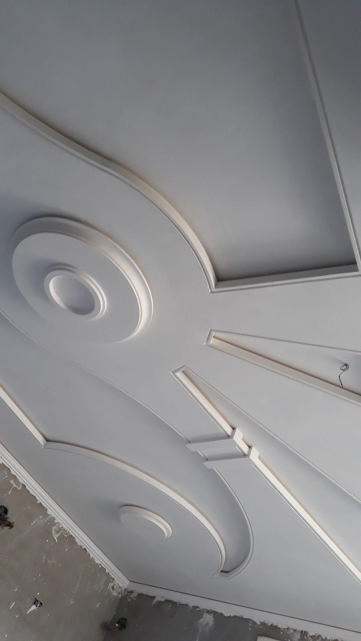 جبس جزائري Plafond Design Double Entry Doors Lighted Bathroom Mirror