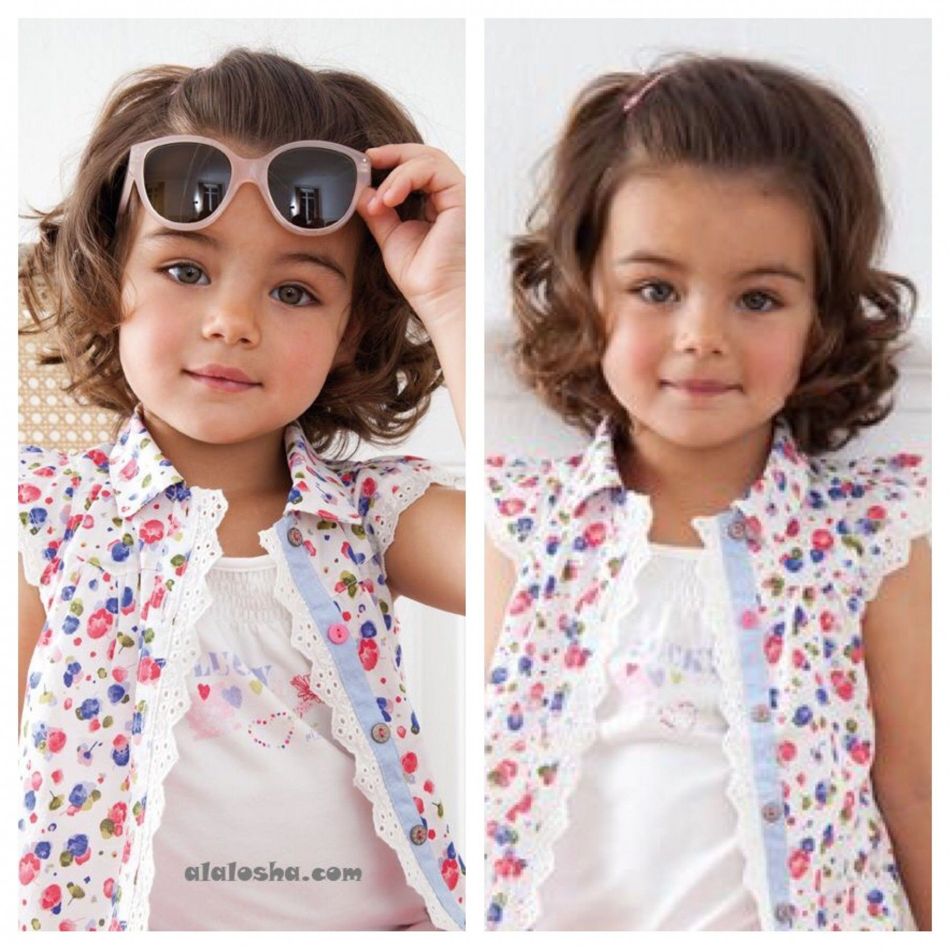 9+ Awesome Little Girl Curly Haircuts in 9   Curly girl ...